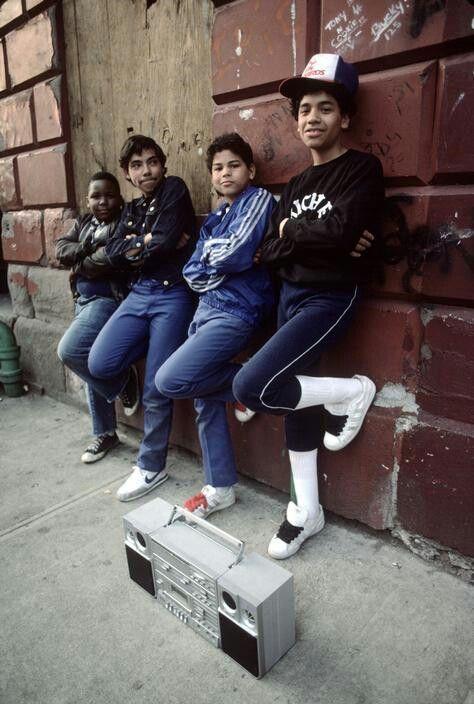 Bronx, 80-as évek, Superstar, Fat Laces (Fotó: Jamel Shabazz)