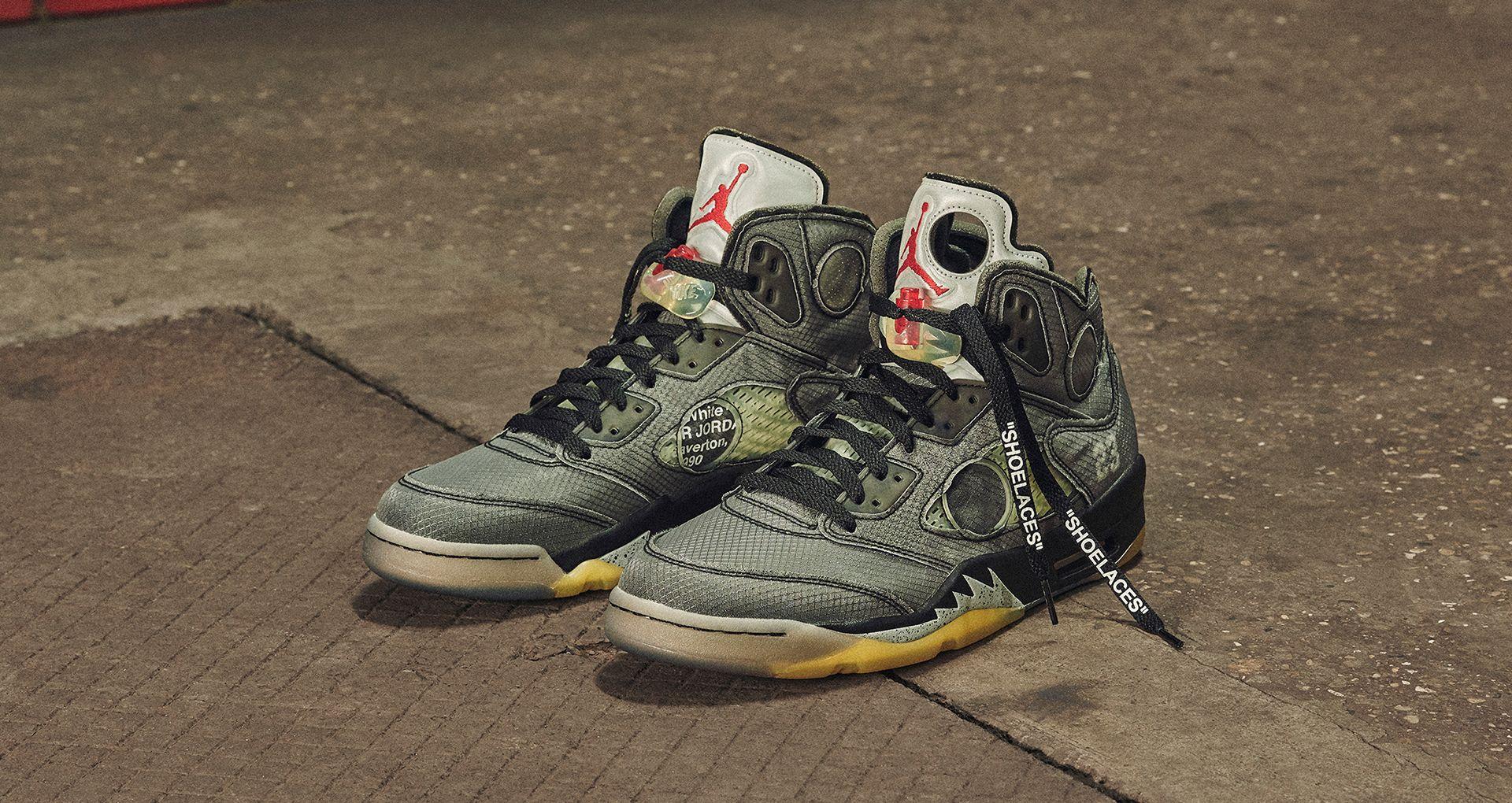 Off White Jordan 5 mi van a cipő mögött? sneakerbox.hu blog