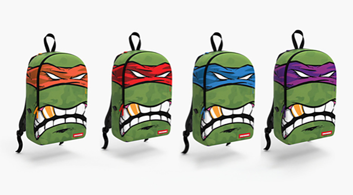 Sprayground x Teenage Mutant Ninja Turtles Collection