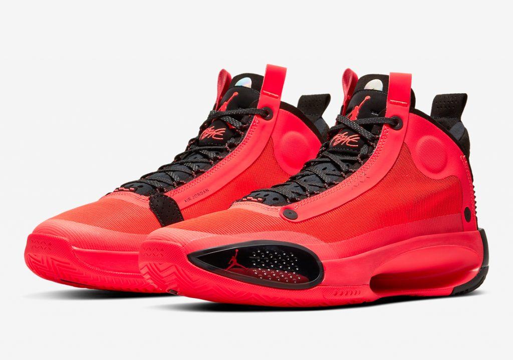 Nike Air Jordan 34 INFRARED