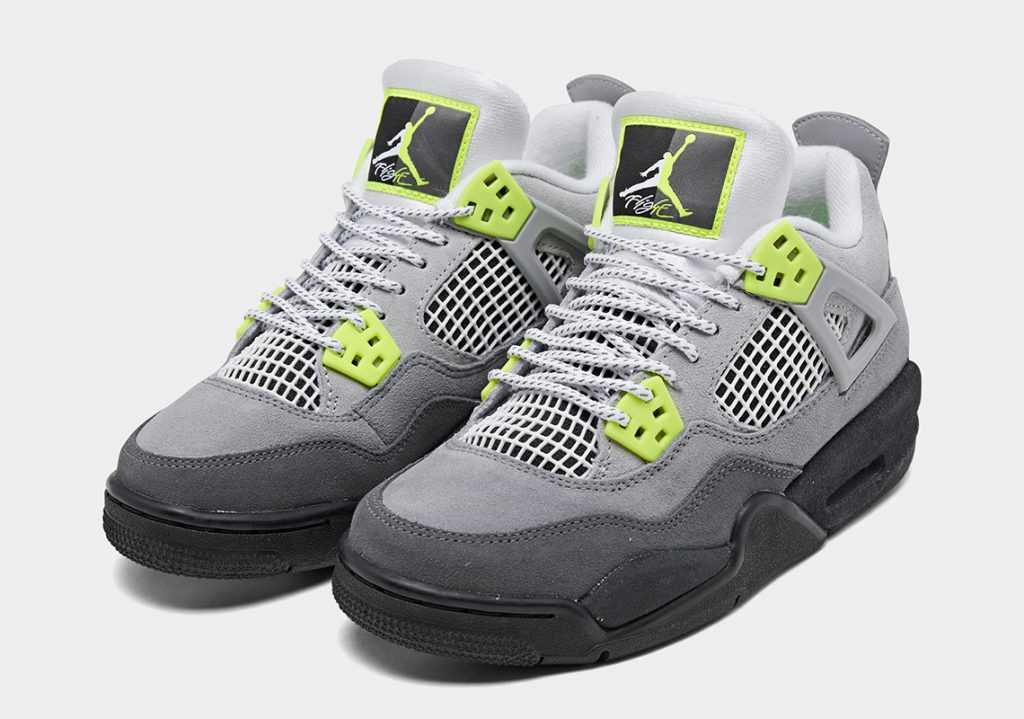"""Nike Air Jordan 4 """"NEON"""""""