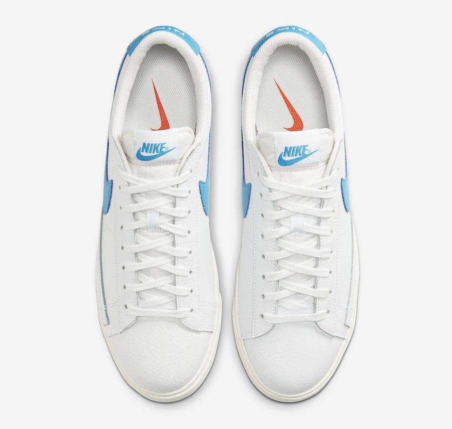 Nike Blazer Low Leather (Laser Blue) CI6377-104