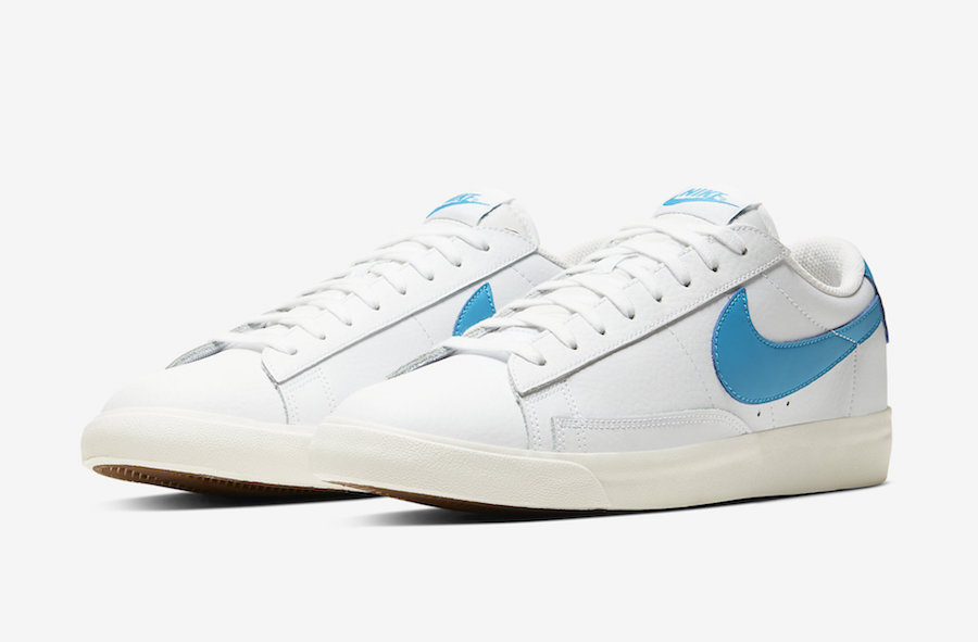 Nike Blazer Low Leather (Laser Blue) CI6377-104