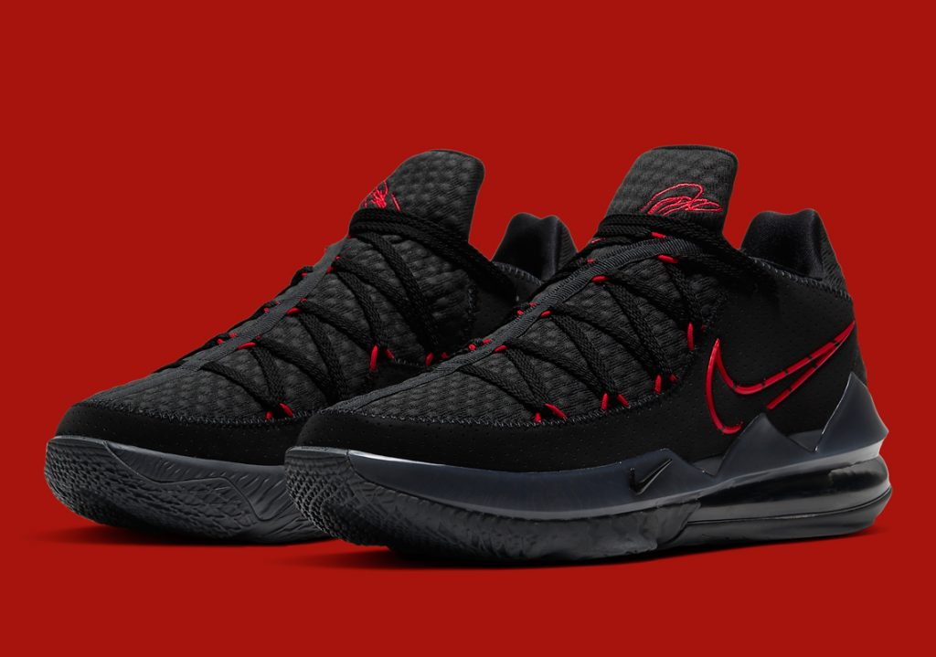 Nike Lebron 17 Lows BRED
