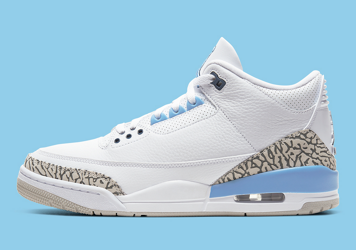 Nike Air Jordan 3 UNC sneakerbox.hu blog