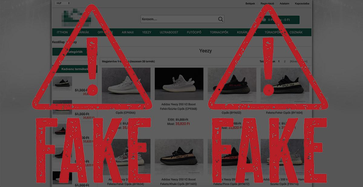 Hamis, kamu cipőt árusító webshop feketelista - vigyázat: nem eredeti!