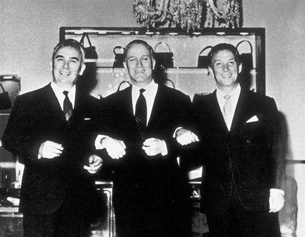 Vasco, Aldo és Rodolfo Gucci