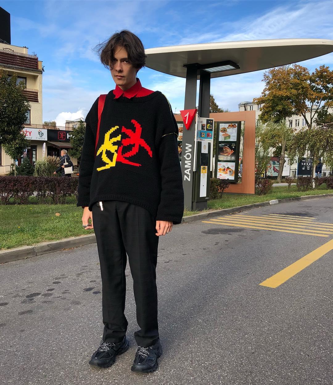 handmade kötött pulcsi