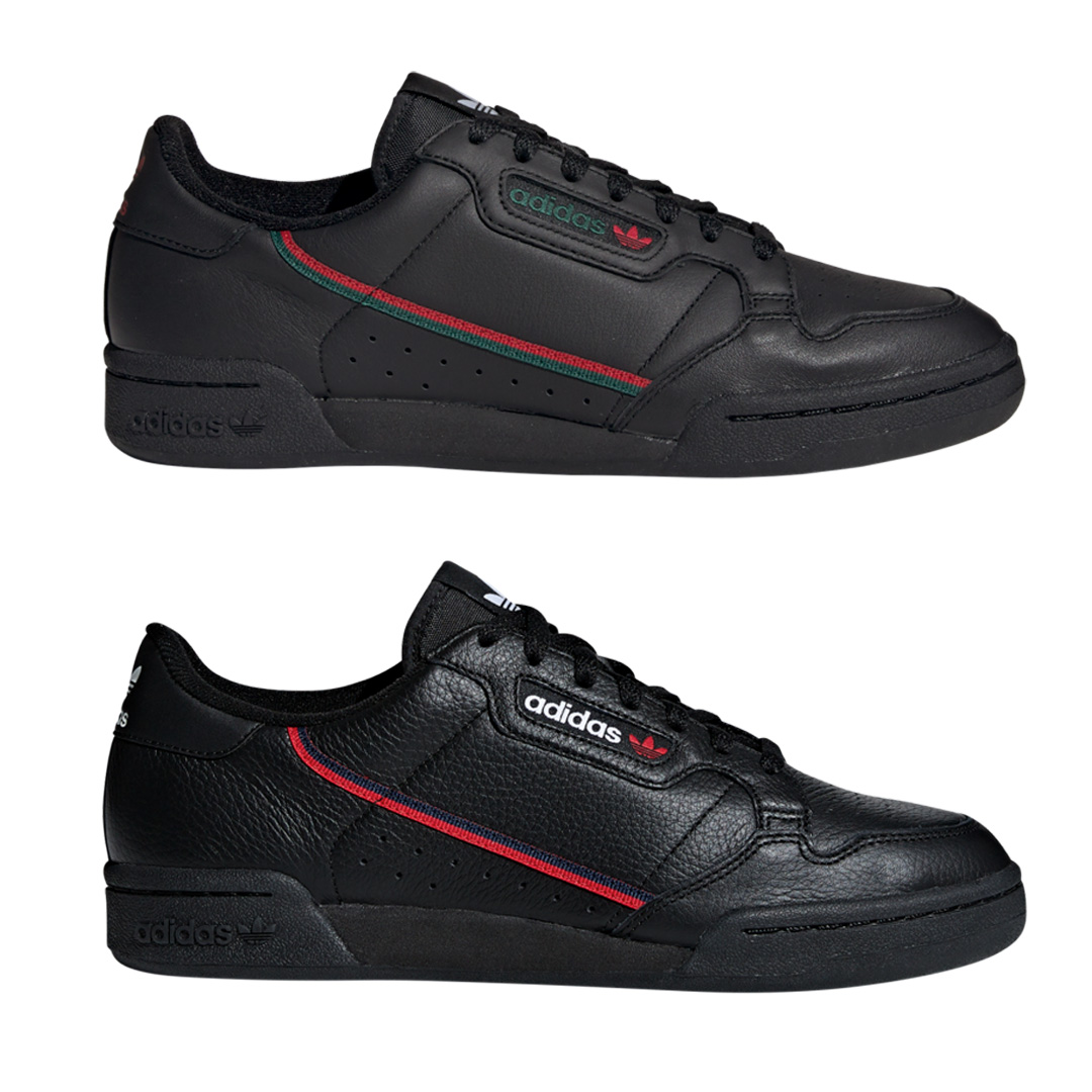 adidas Continental 80 fekete színekben