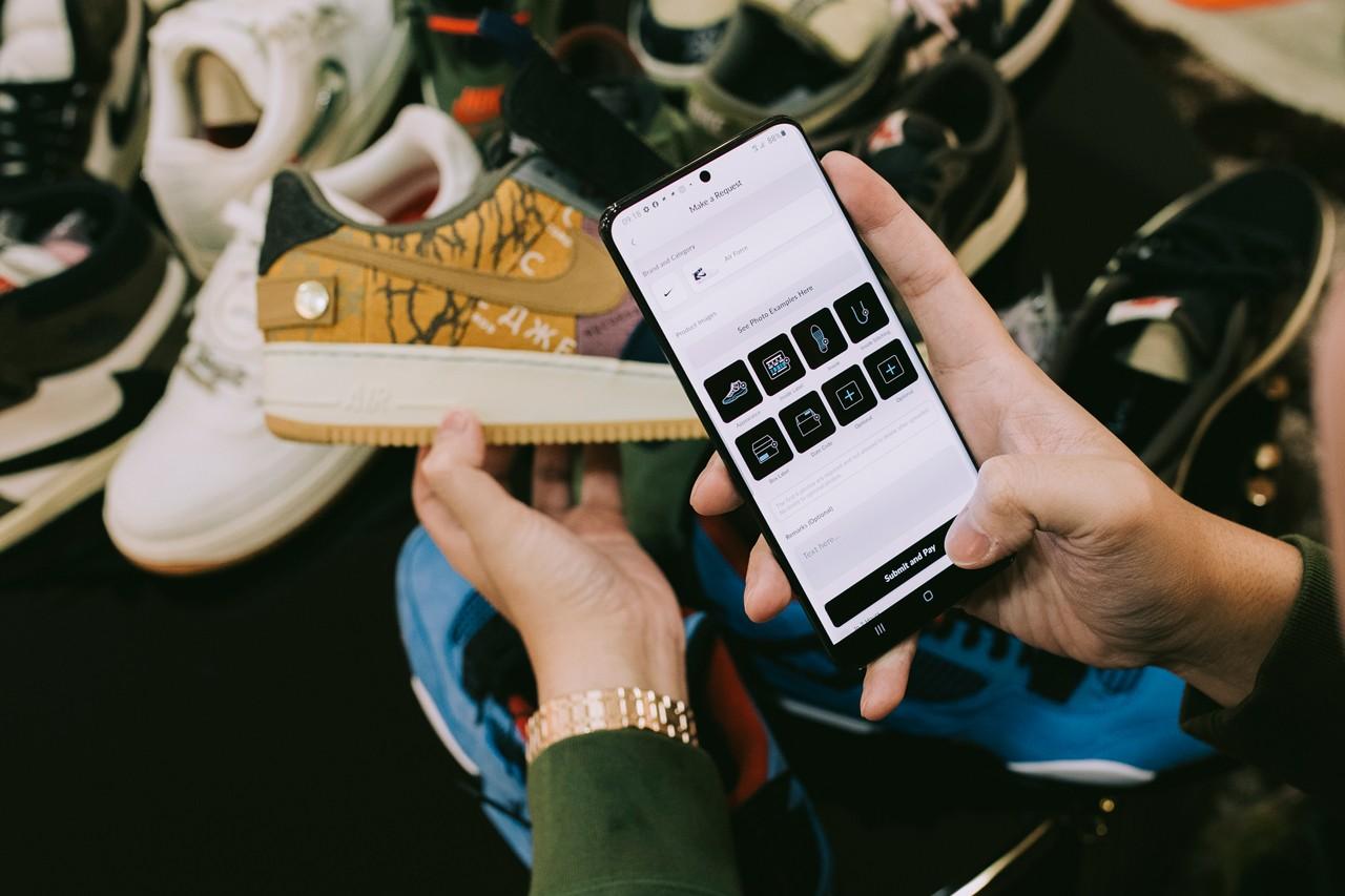 Check Check: egy sneaker legit check alkalmazás a telefonodra