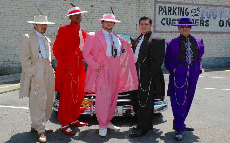 A pachuco divat mai képviselői