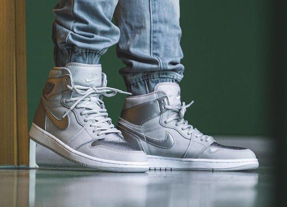 Nike Air Jordan 1 JAPAN SILVER