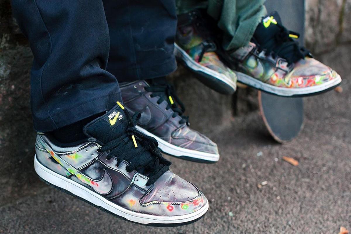 Civilist x Nike SB Dunk - hőre színt vált!