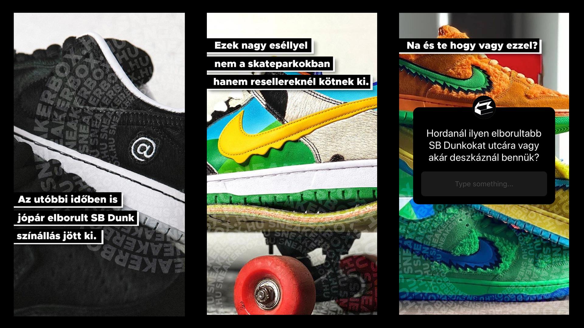 Nike Dunk Hype - megkérdeztünk titeket az Instánkon