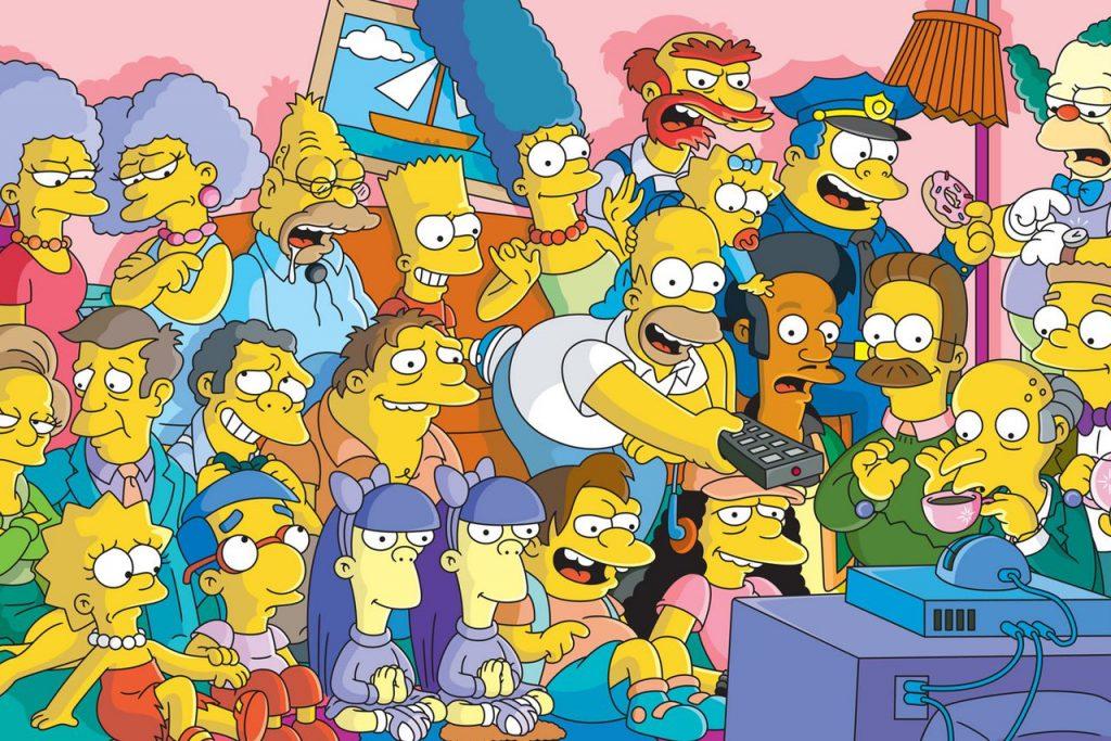 Simpsons X Vans