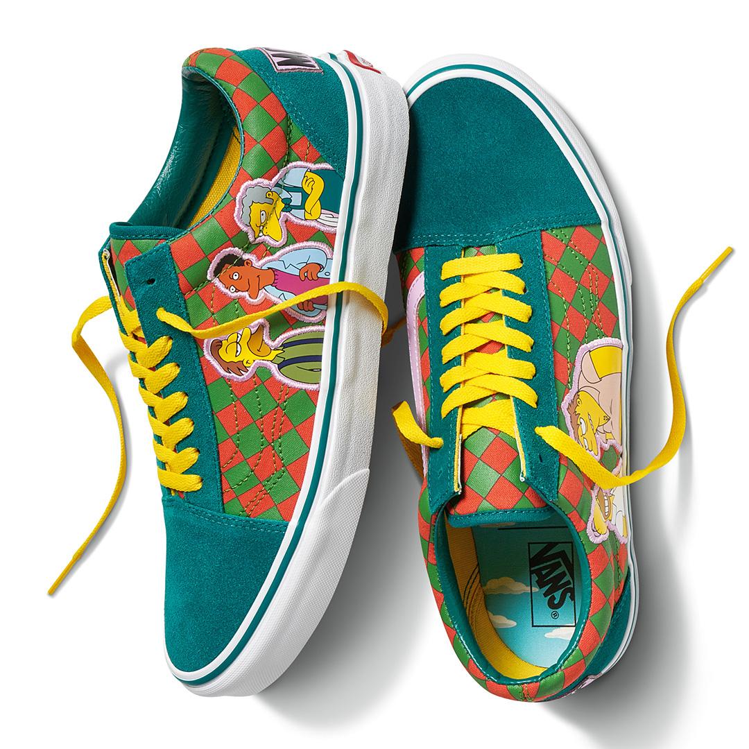 The Simpsons: Moe's Vans Old Skool (VN0A4BV521L)
