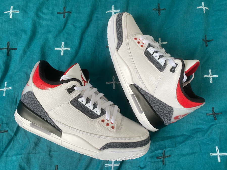 Nike Air Jordan 3 SE DENIM FIRE RED
