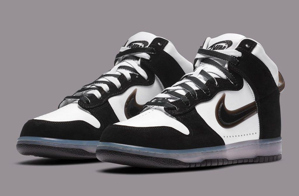 Nike / Slam Jam Dunk Hi Clear Black