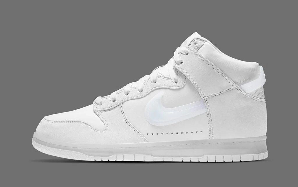 Nike / Slam Jam Dunk Hi Pure White