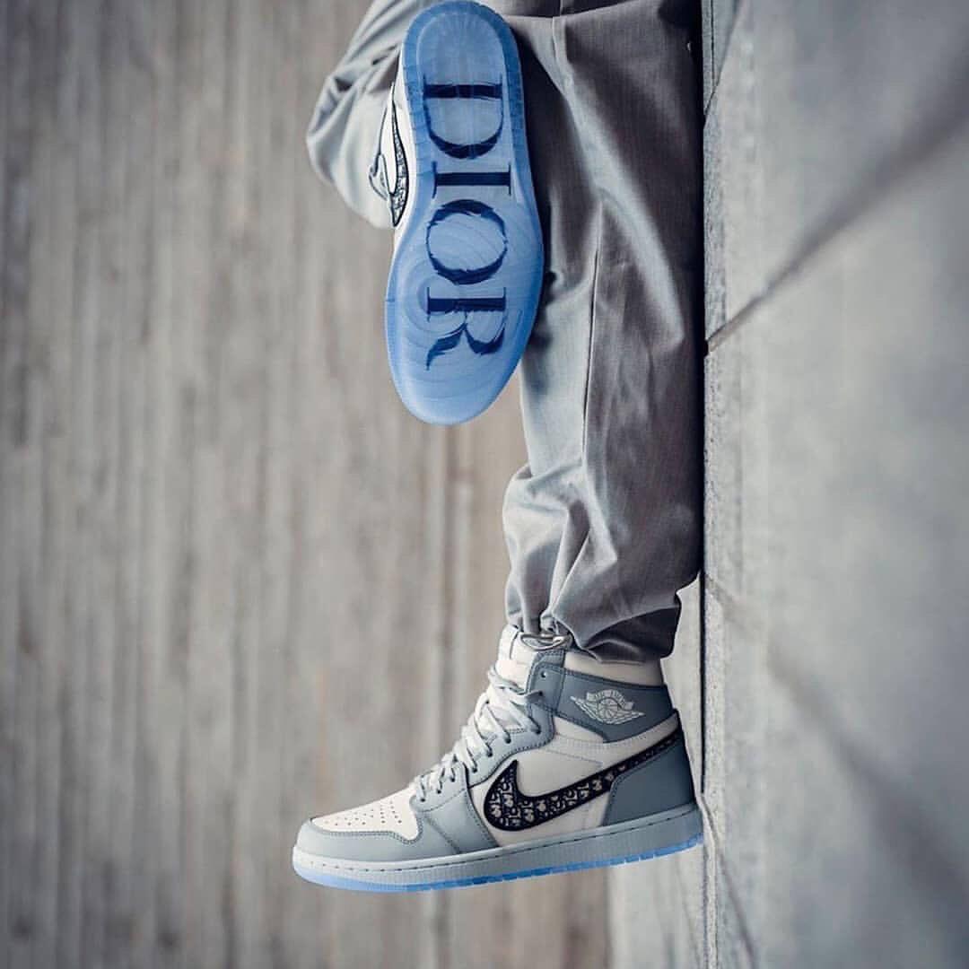 Dior Jordan: sneakers x haut couture