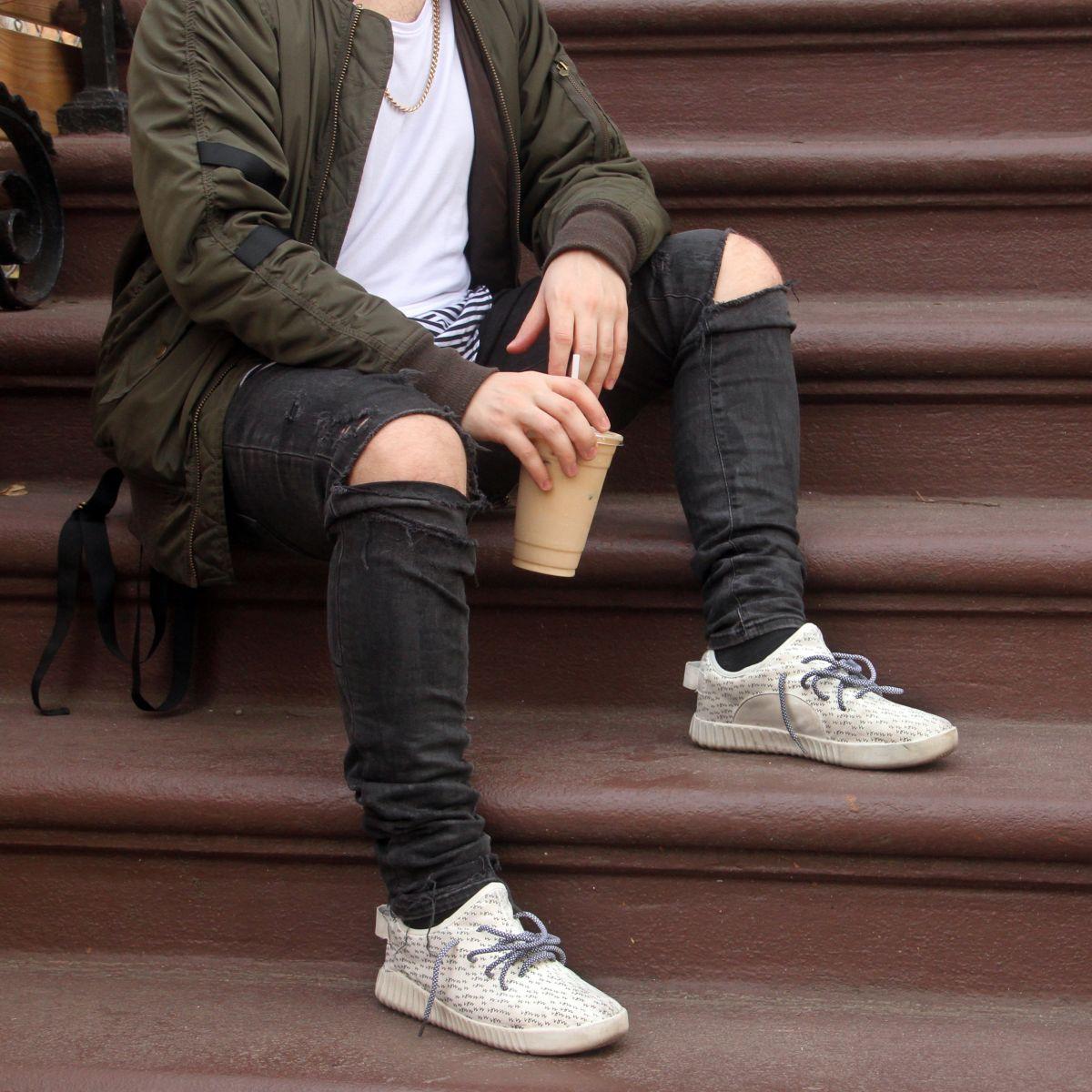 Akinek számít valamit, úgyis észreveszi, hogy kamu cipőt viselsz...