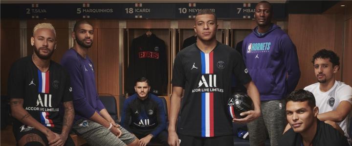 Jordan x PSG 2019/20 mezek
