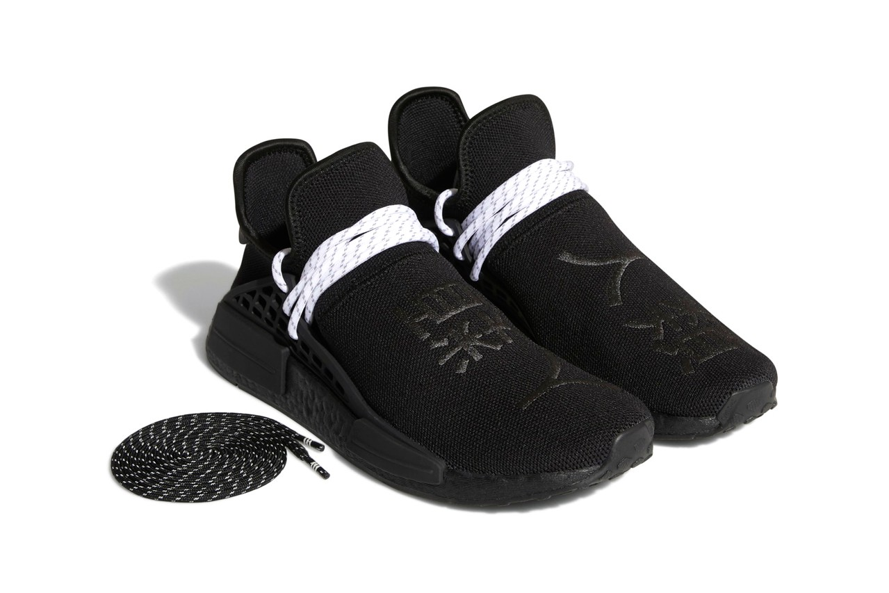 Pharrell Williams x adidas Originals NMD Hu 'Mono black'