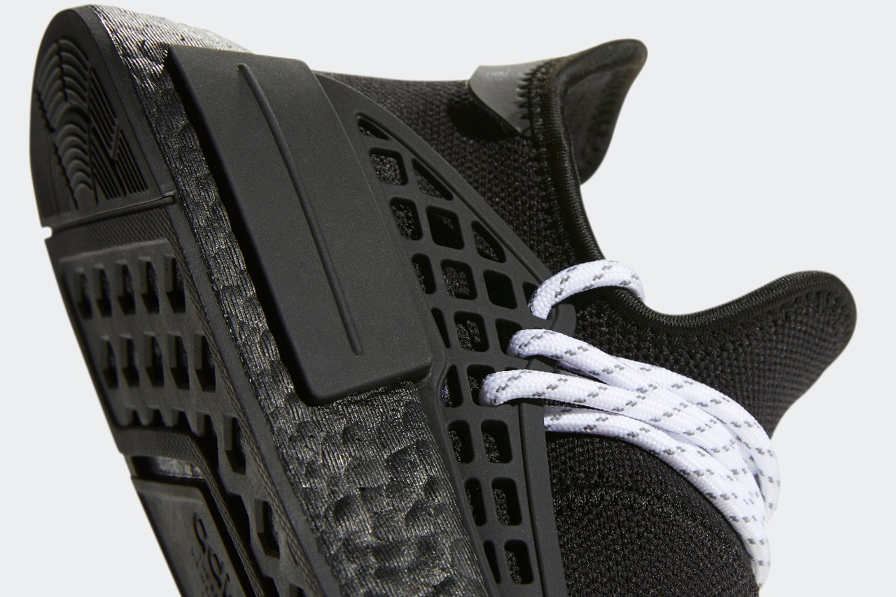 Pharrell Williams x adidas Originals NMD Hu 'Mono black'