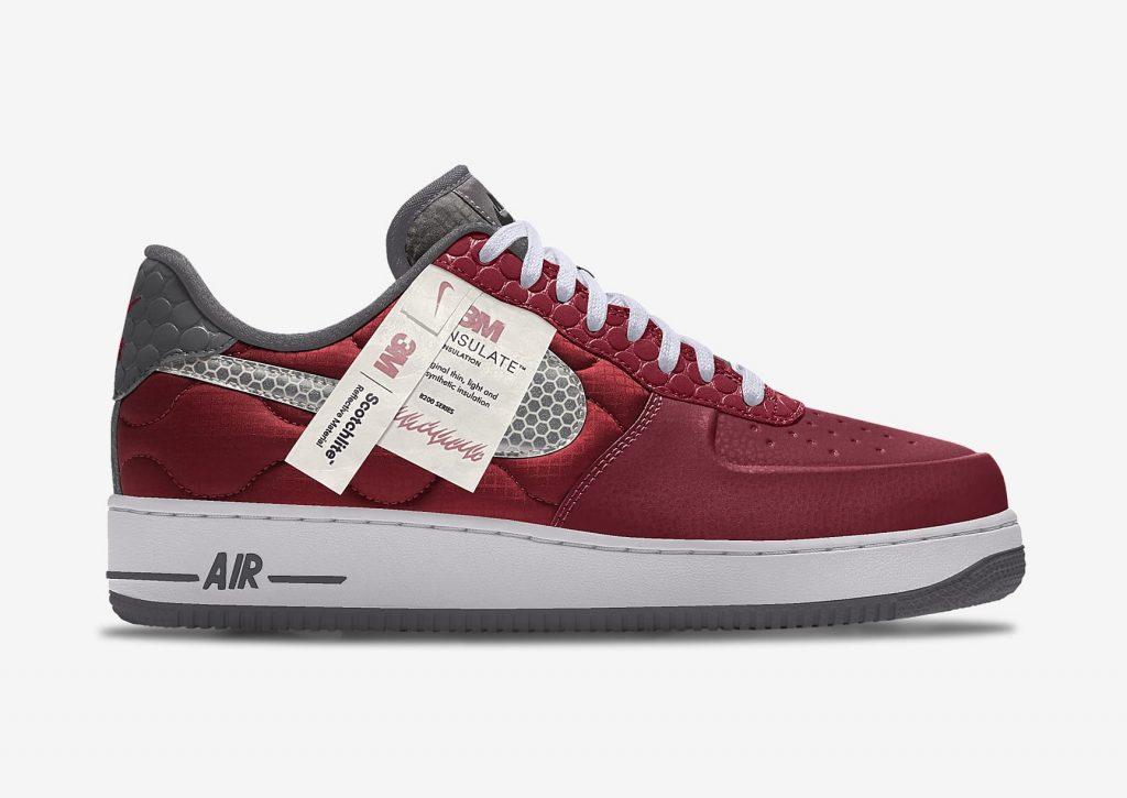 Nike x 3M Air Force 1