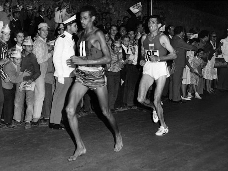 abebe_bikila_barefoot_olympic_marathon_champion_1960