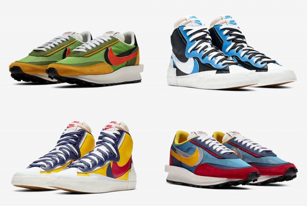 Nike sacai első megjelenések