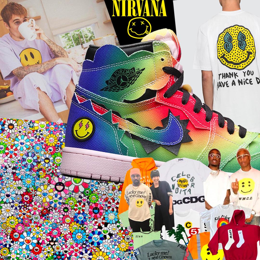 Smiley a streetwear kultúrában