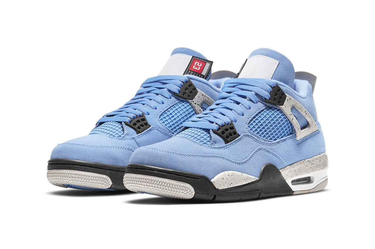Air Jordan 4 University Blue