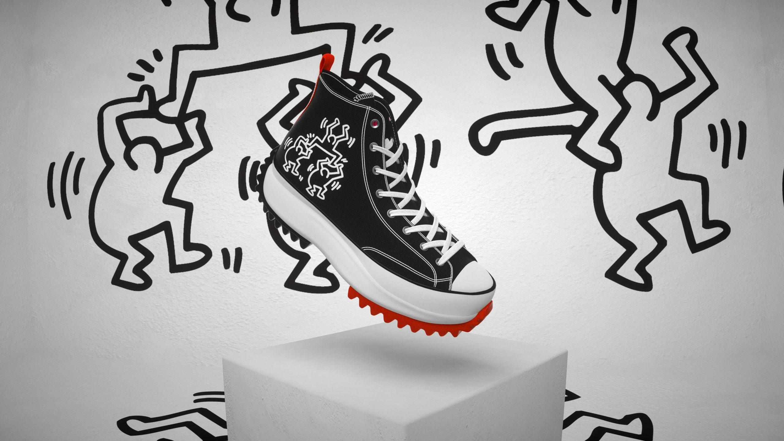 Converse x Keith Haring Run Star Hike Unisex High Top