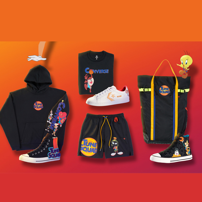 Converse Space Jam 2 Collection