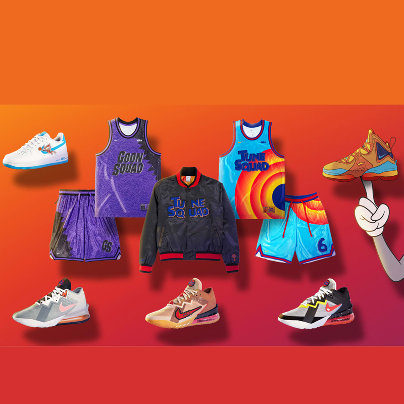 Nike Lebron 18 Space Jam 2 Collection