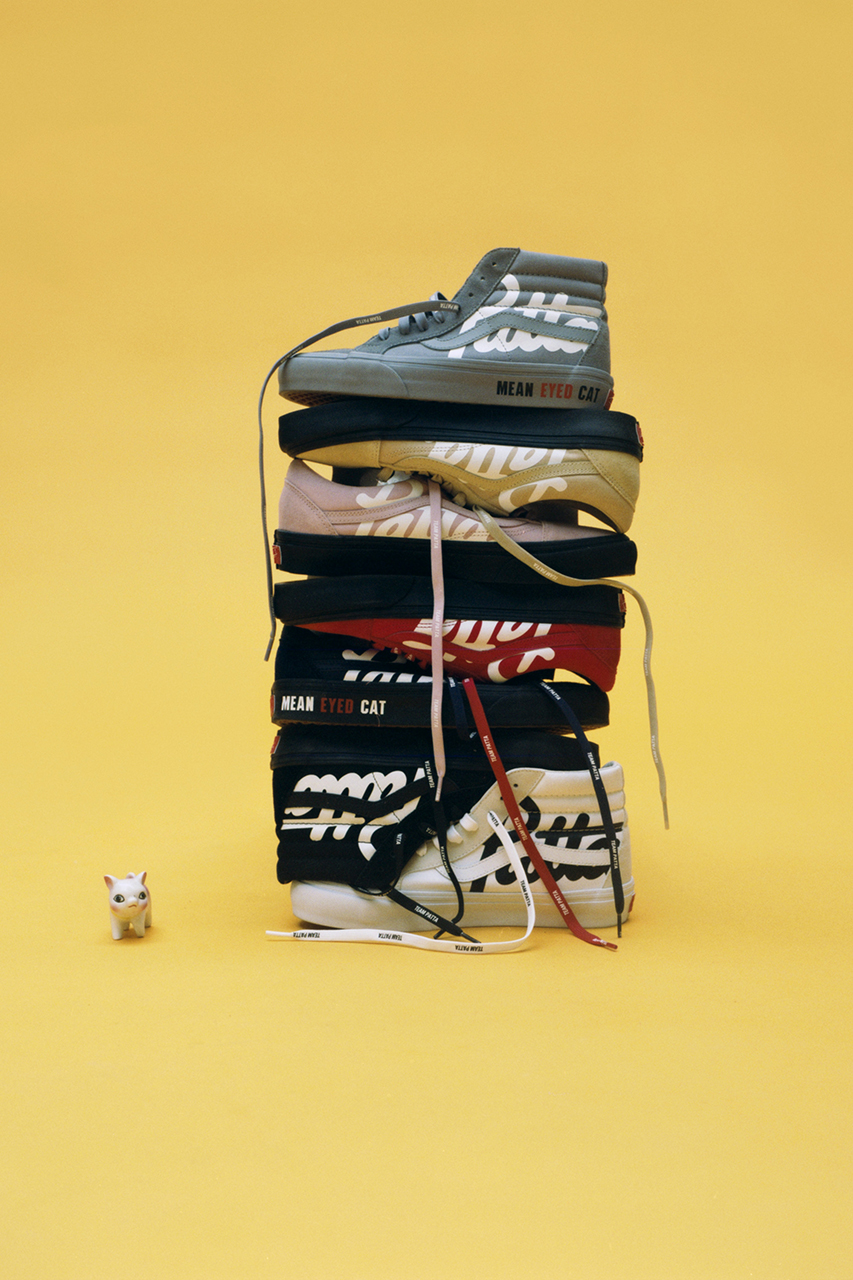"""Patta x Vault by Vans """"Mean Eyed Cats"""""""