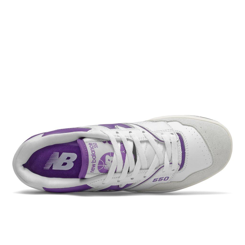 New Balance 550 fehér-lila
