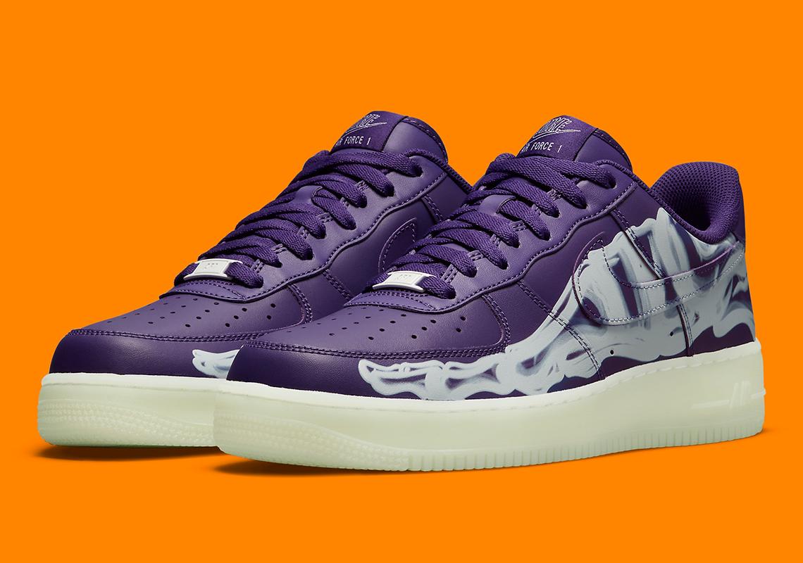 """Nike Air Force 1 Low """"Purple Skeleton"""""""